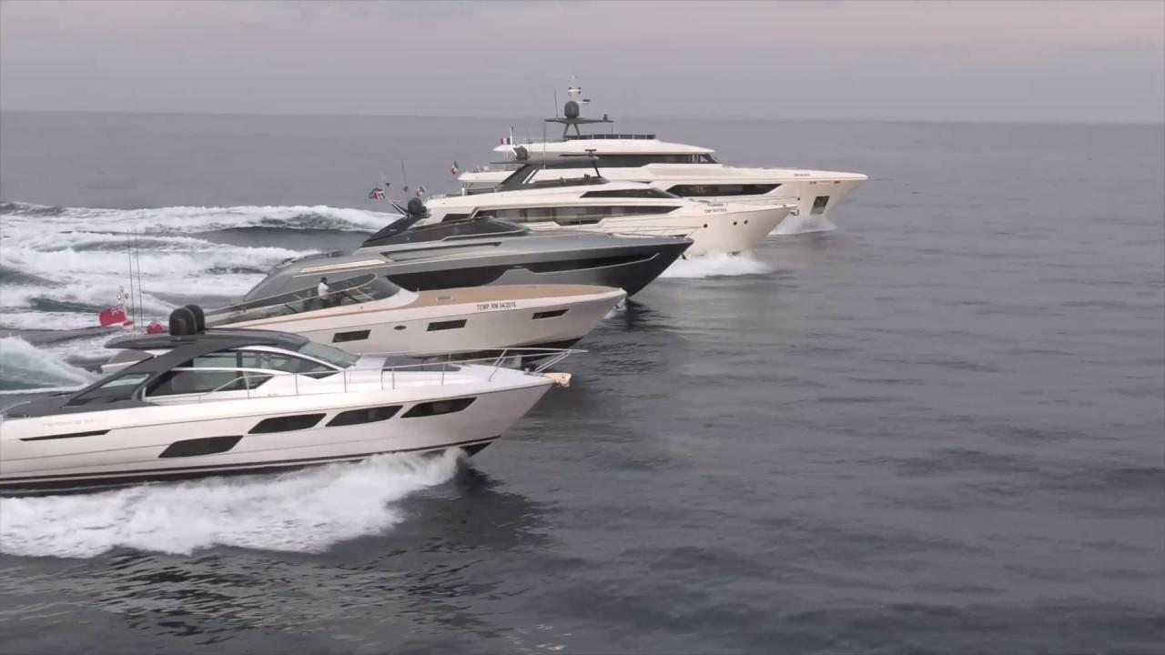 Luxury Yachts   Ferretti Group 2016 debuts   YouTube