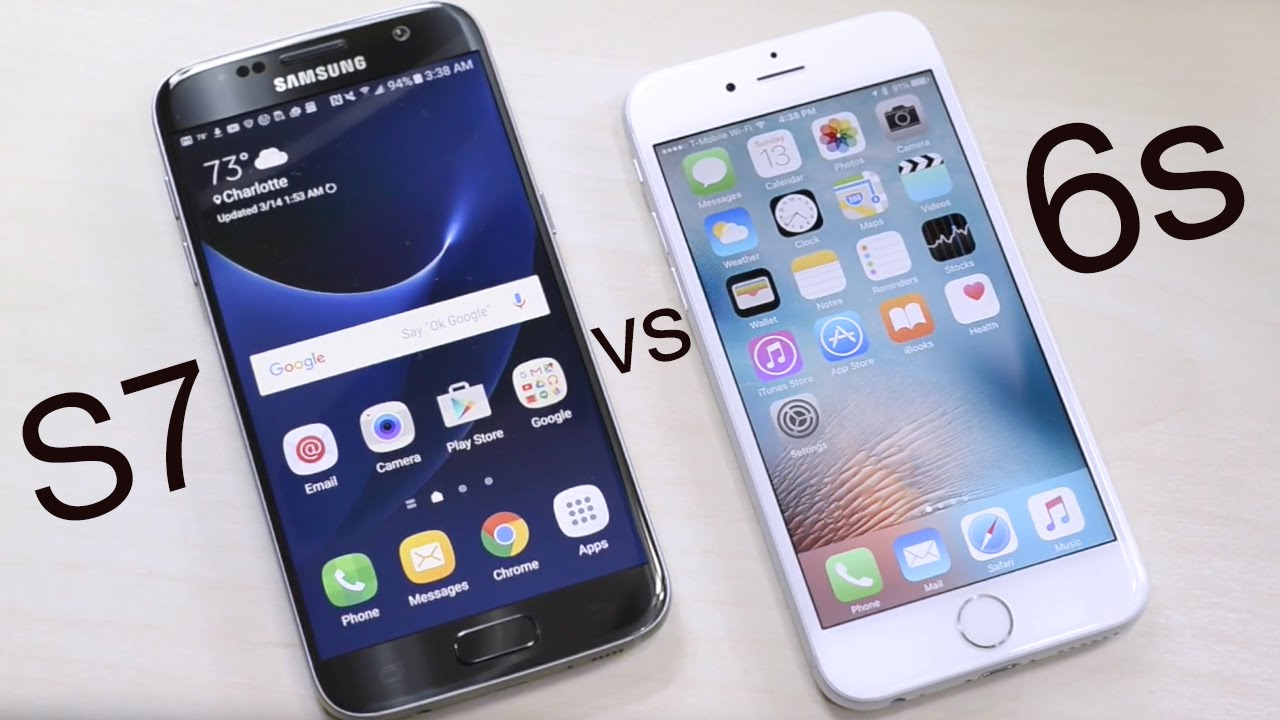 Galaxy S7 vs iPhone 6s: Which is The Best?