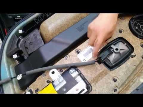 How to fix comfort access on the door handle of BMW e65
