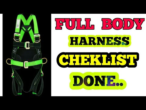 How To Insepection Of Safety Belt।। Cheklist