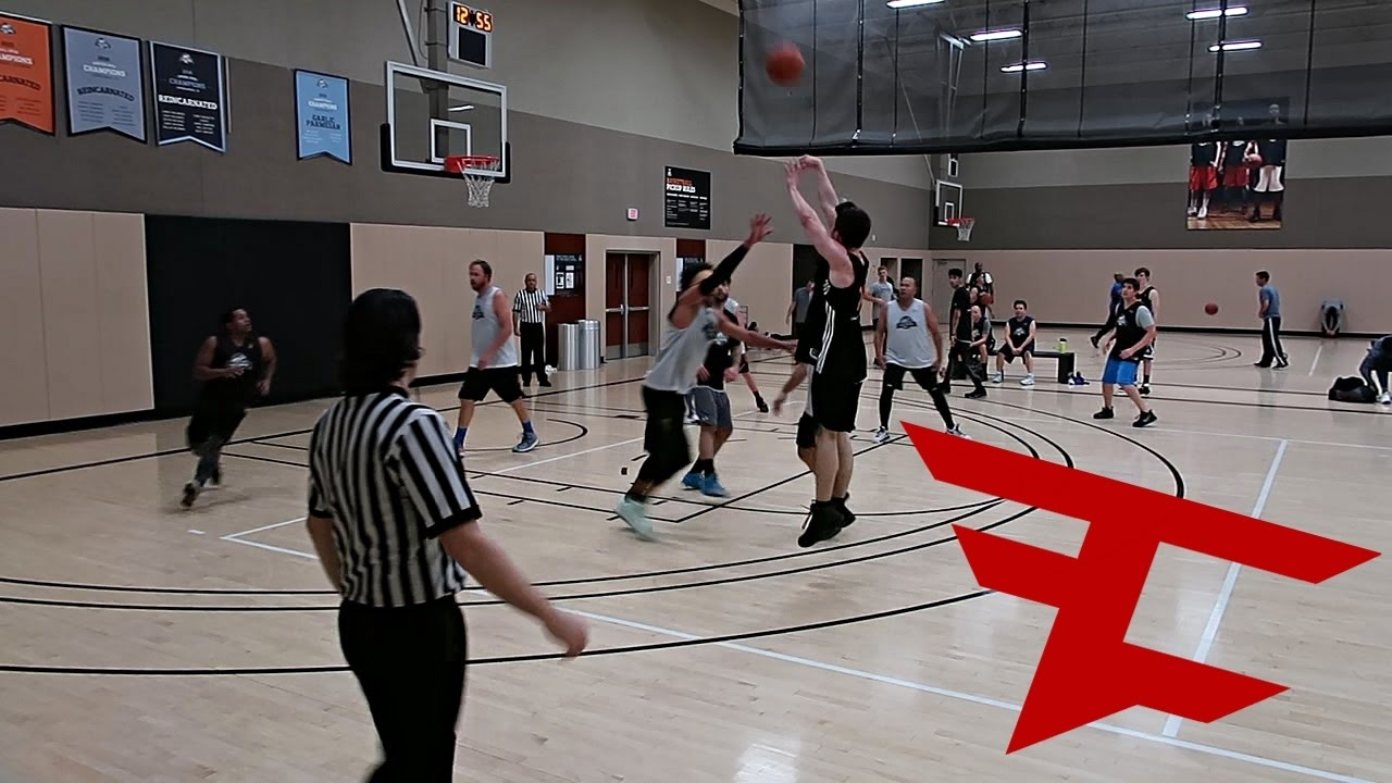 Faze Clans First Ever Basketball Game Youtube