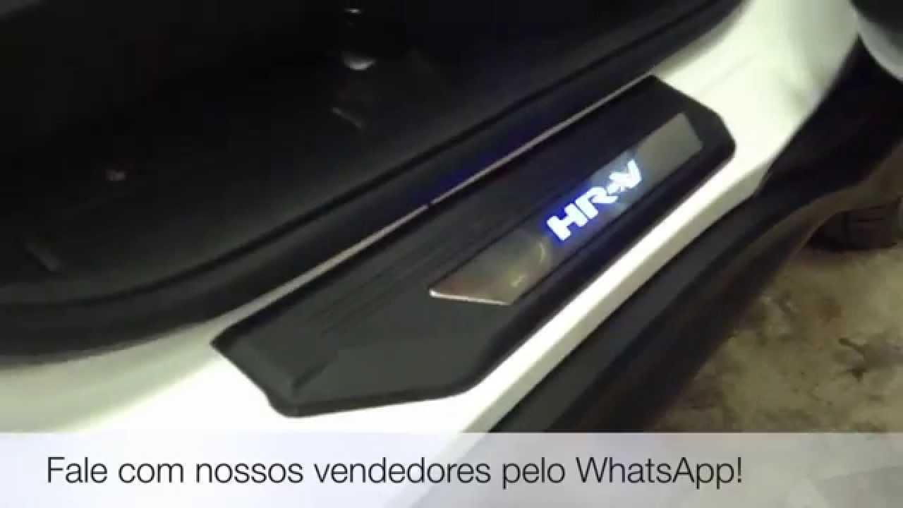 Honda Hrv Soleira Led Hr V Instalada Na Dk136 Acess 243 Rios