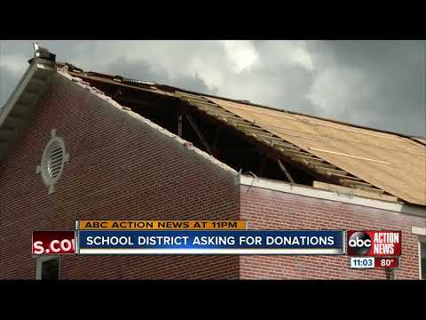 Here's how you can help the Polk County middle school impacted by tornado damage