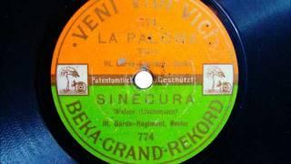 Königin Elisabeth III. Garde Grenadier Regiment Berlin spielt La Paloma ca 1908