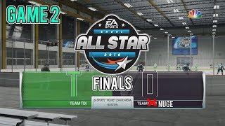 NHL 18 YOUTUBER 3ASHL TOURNAMENT FINALS! (Game 2) -- Team Nuge vs Team TDI
