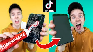 We Tested VIRAL TikTok LIFE HACKS!!