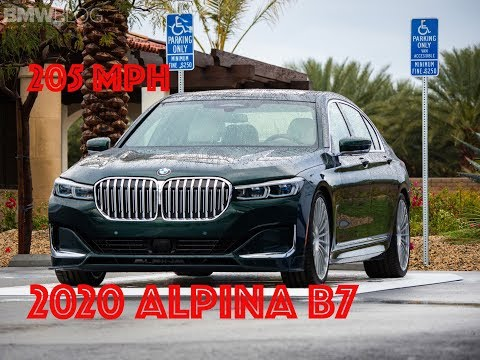 The Super Uber Limousine? The 2020 ALPINA B7 Facelift with 205 mph top speed