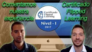 Certificado Flipped Learning Nivel-1