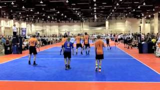 Jack Cole Mens Volleyball SCVA and BJNC highlights 2013