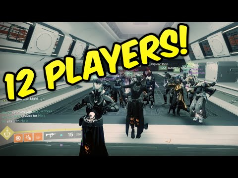 12 MAN RAIDS GLITCH!