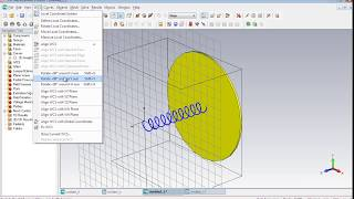 CST MWS Tutorial 02: Geometrical Design of a Helix Antenna