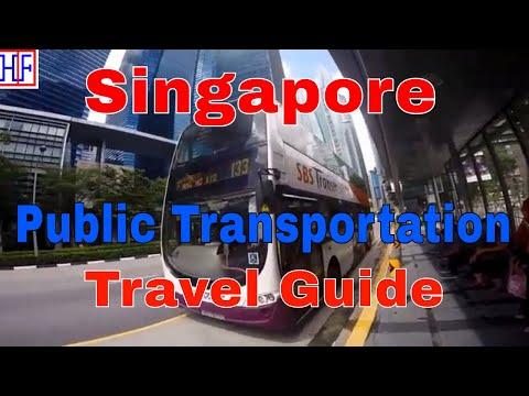 Singapore | Public Transportation | Tourist Information | Episode# 2