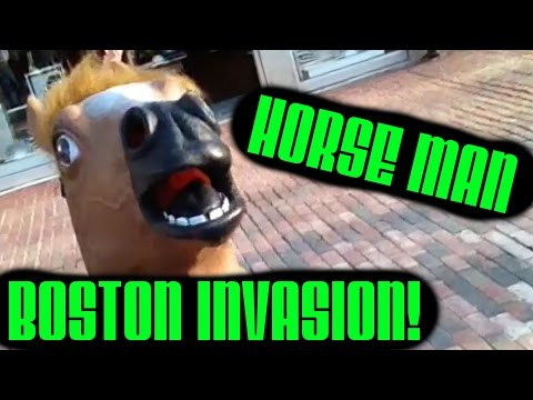 HORSE MAN INVADES BOSTON! (VLOG)