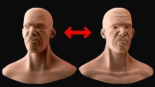 Normals and AO Maps for Characters from High Poly Sculpts in 3DS Max