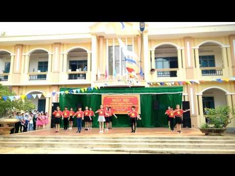 Lớp 6A: Nhảy - Tiến lên Việt Nam ơi HD✔
