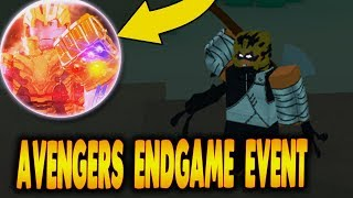 [EPIC CODE] AVENGERS ENDGAME EVENT IN HEROES ONLINE | Thanos Boss in Heroes Online Roblox | iBeMaine