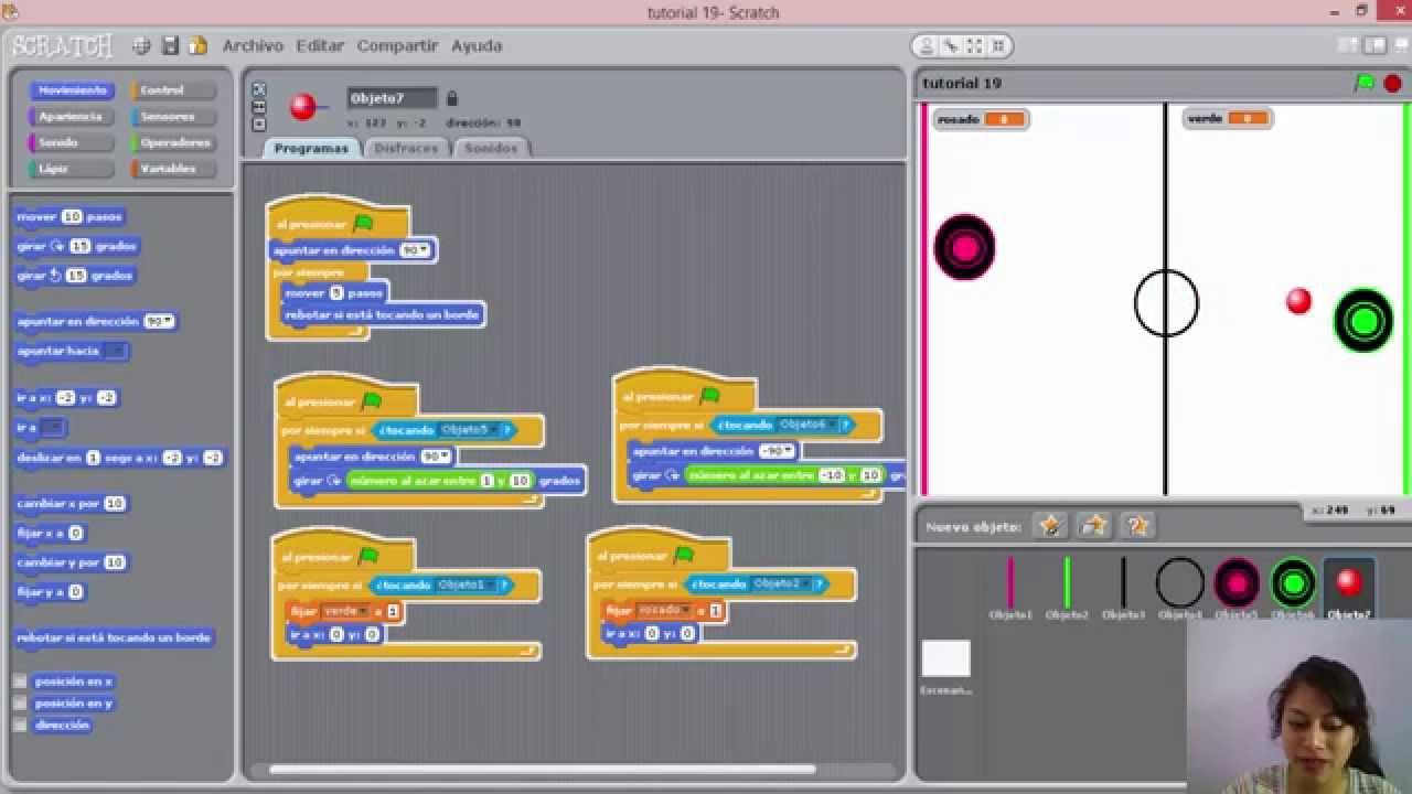 Tutorial 19 Scratch Como Crear Un Juego Basico Ping Pong Youtube