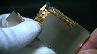 デュポンライン2ヘアーライン16401型ゴールド&パラディウムコンビ 199...