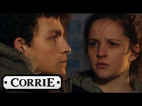 Coronation Street - Amy and Simon are Caught Discussing Her Baby