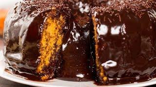 Морковный кекс с шоколадной глазурью! Рецепт, который вы тоже должны попробовать! | Appetitno.TV