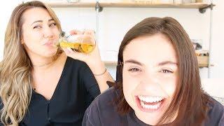 TRUTH OR DRINK!! tea is sPILLED! Cammie's a freak!!!!