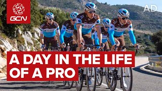 A Day In The Life Of A Pro Cyclist with AG2R La Mondiale