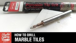 How to Drill a Hole in Marble Tiles - Episode #3