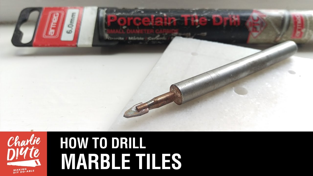 How To Drill A Hole In Marble Tiles Episode 3