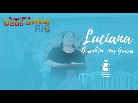LUCIANA COM. BERSABÉIA // O PREÇO DA UNÇÃO É O SACRIFÍCIO DE SI MESMO //PREGAR PARA DEUS AVIVAR 2017