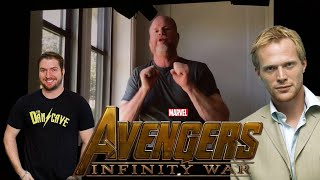 Joss Whedon, Paul Bettany & Dan Casey at Marvel's Avengers Infinity War Marathon