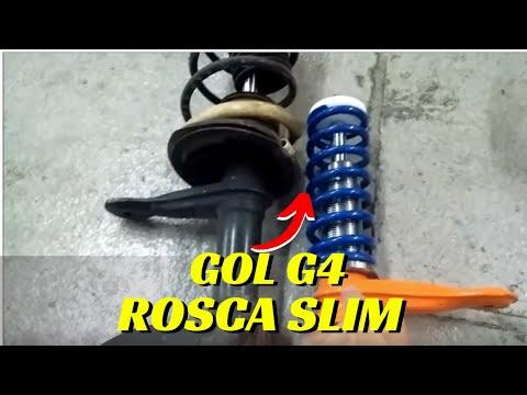 Suspensão de Rosca Slim Gol G4 - Gasnag Suspensões
