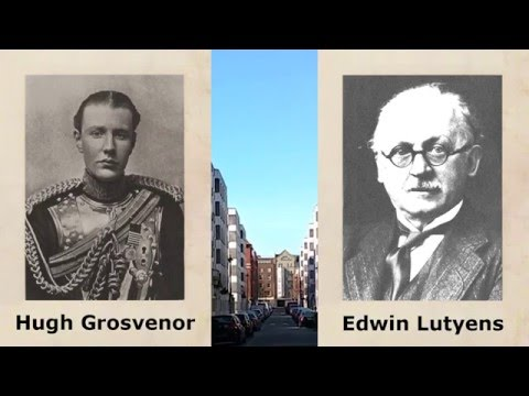 London Wandering - Edwin Lutyens' Grosvenor Estate