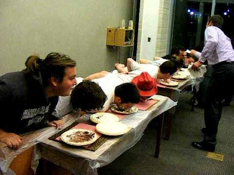 Ware College House HA Pie Eating Contest