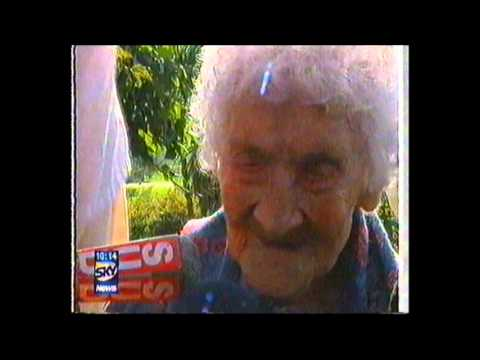 Oldest human ever, Jeanne Calment undisputed world record