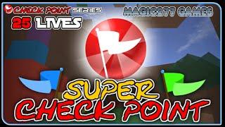 ROBLOX | Super Check Point | Senpai Trouble (No-Commentary/Short)