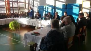 Wspólne posiedzenie Rady Gminy Milówka ws nowej Reformy Oświaty cz. 1