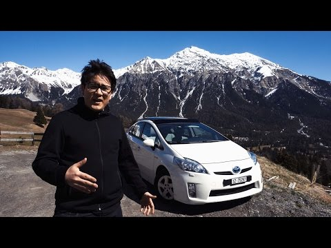 Toyota Prius test: Can it handle the mountains? - 2017