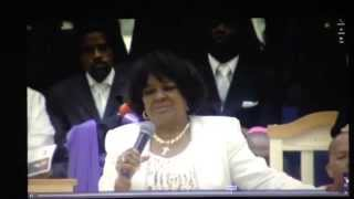 Pastor Shirley Caesar Praise Break at Bishop Harold Ivory Williams Funeral