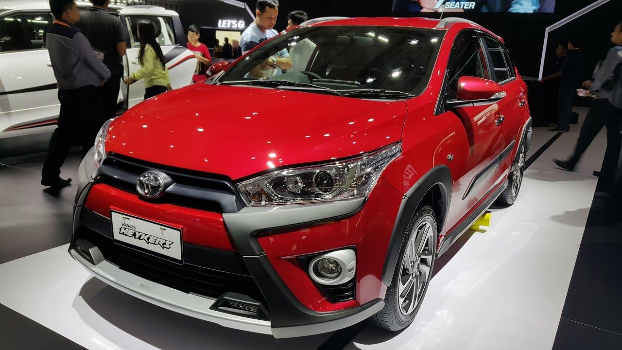 Toyota Yaris Heykers Trd Sportivo New Agya 1.0 G M/t 1 5 At 2016 Rp 279 Jt Youtube