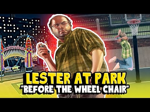 NBA 2K17: GTA 5 LESTER | POSTERIZERS!! & ANKLE BREAKERS!! | LESTER AT MYPARK
