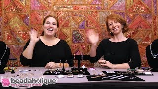 Beadaholique Live Class: Statement Jewelry with Swarovski Crystal Fancy Stones