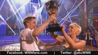 Download Kellie Pickler Wins 'Dancing With The Stars' Mirror Ball Trophy
