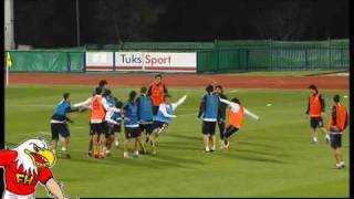 FIFA World Cup 2010 - Argentina Funny Training