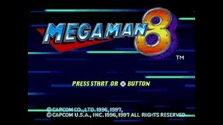Mega Man 8 Casual Livestream