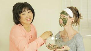 Organic Face Mask: Wakame Seaweed Face Mask
