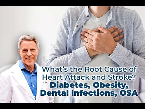 What's the root cause of heart attack and stroke? Diabetes, obesity, dental infections, osa...