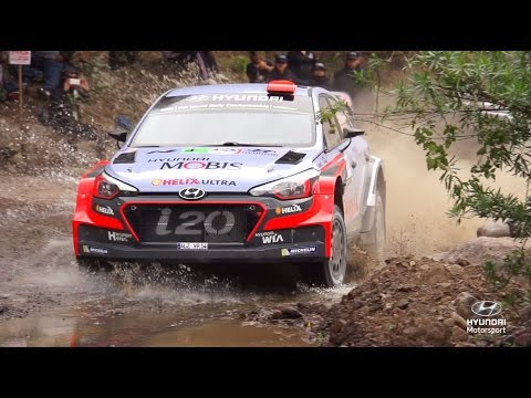 Rally Mexico Best of: Slow-mo - Hyundai Motorsport 2016