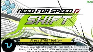 Need for Speed SHIFT PPSSPP Android/Full Speed/Max settings 5X resolution 30 FPS