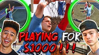 $1000 Park Tournament Vs LSK and HANKDATANK | NBA 2K19