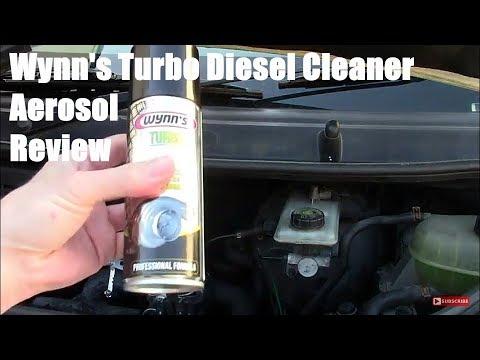 Wynns Aerosol Diesel Turbo Cleaner Review